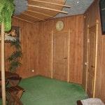 Комната отдыха сауны с бассейном